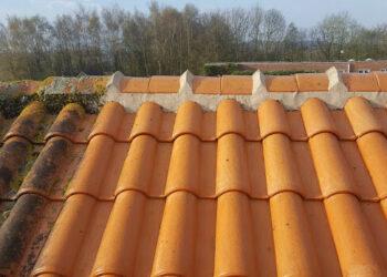 Reinigen van daken en gevels