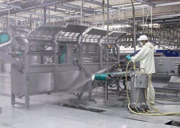 Industriële schoonmaak en desenfectie